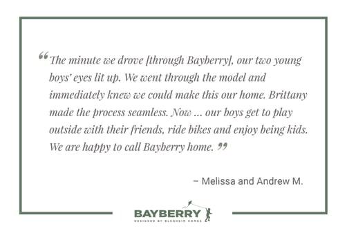 Bayberry Testimonial 2